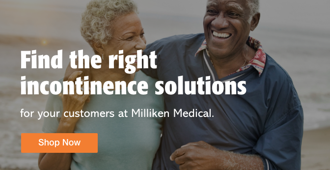 Three Quarter Page Ad – Shop Incontinence Solutions from Trusted Brands – Click to View Page