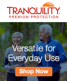 Quarter Page Ad – Tranquility Incontinence Products – Click to View Page