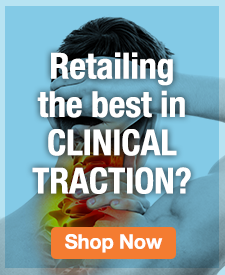 Quarter Page Ad – Retailing the Best in Clinical Traction? – Click to View Page