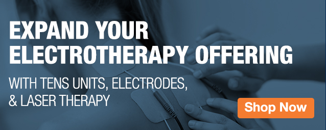 Half Page Ad – Electrotherapy Offering – Click to View Page