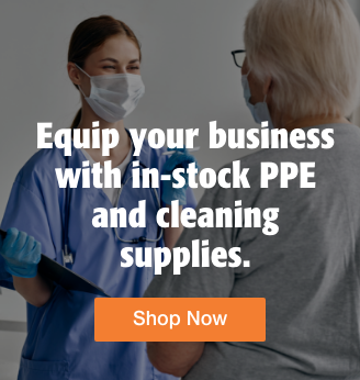 Quarter Page Ad – Shop PPE Essentials & Cleaning Supplies at Milliken Medical – Click to View Page
