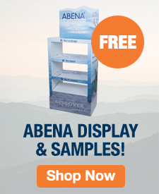 Quarter Page Ad – FREE Abena Display and Samples – Click to View Page