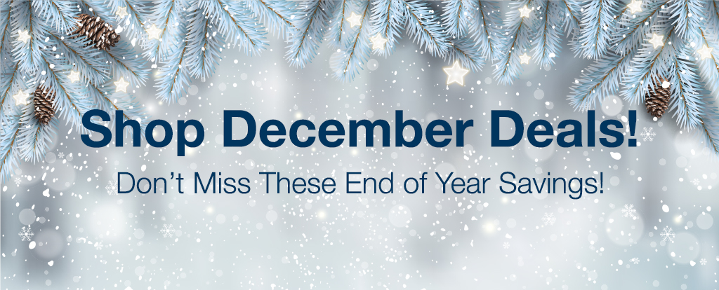 December Holiday and Cyber Week Deals - Limited Time