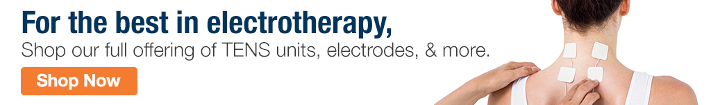 Full Page Ad – Shop Our Collection of Electrotherapy Products – Click to View Page