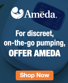 Quarter Page Ad – Shop Our Collection of Ameda Products – Click to Shop