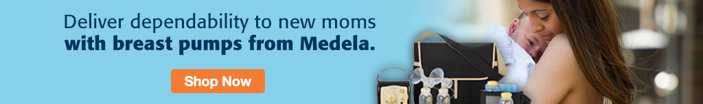 Full Page Ad – Shop Dependable Breast Pumps from Medela – Click to View Page