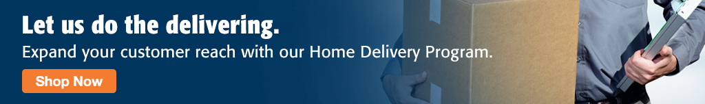 Full Page Ad – Home Delivery Made Simple with Milliken Medical – Click to View Page