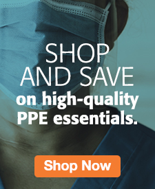 Quarter Page Ad – Shop & Save on PPE at Milliken Medical – Click to View Page