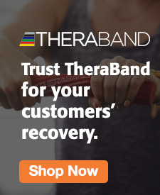 Quarter Page Ad – Support Recovery with TheraBand – Click to View Page