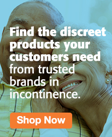 Quarter Page Ad –  Shop Incontinence Solutions from Trusted Brands – Click to View Page