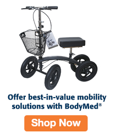 Quarter Page Ad – Shop BodyMed® Mobility Solutions – Click to View Page