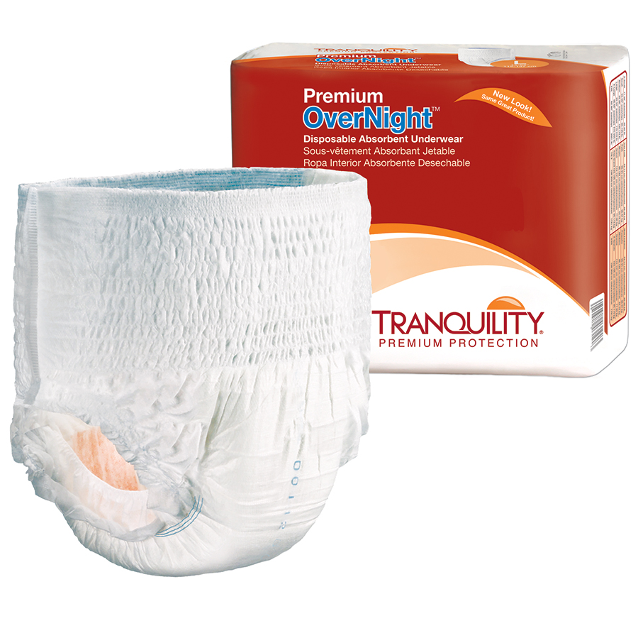 Tranquility Premium OverNight™ Disposable Absorbent Underwear