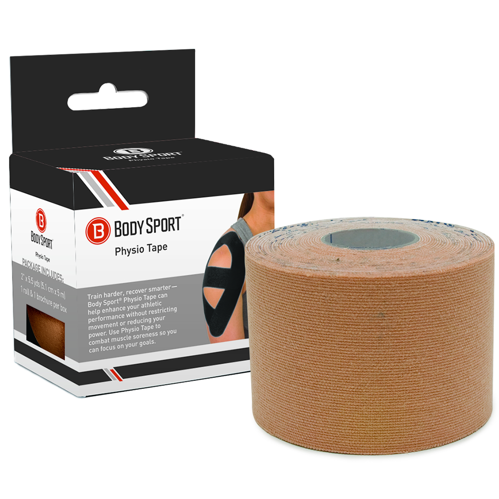 Body Sport Physio Tape - Natural