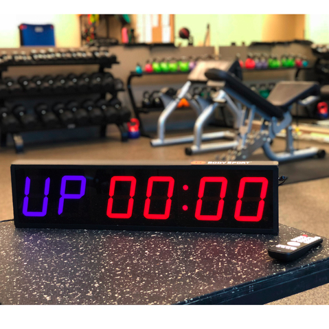 Product Image - BodySport Multifunctional Gym Clock - Click to Shop