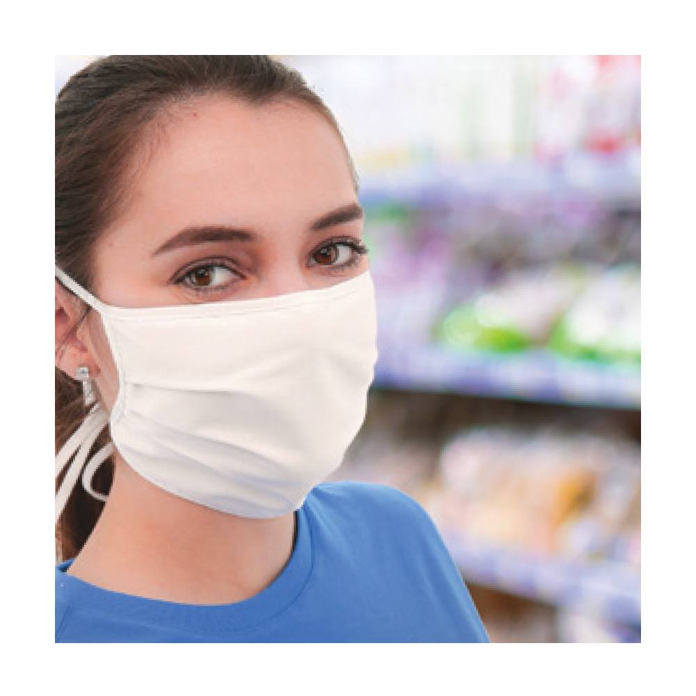PPE - Layered Cloth Face Mask - Click to Shop