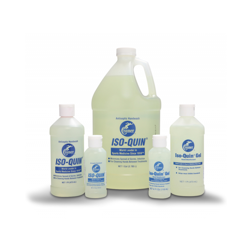 Milliken Medical Featured Products - Cramer Iso-Quin Antiseptic Handwash - Click to Shop