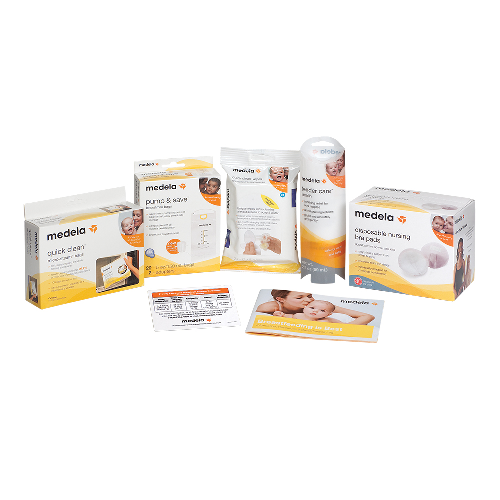 Breast Pumps - Medela Accessory Starter Kit - Click to Shop