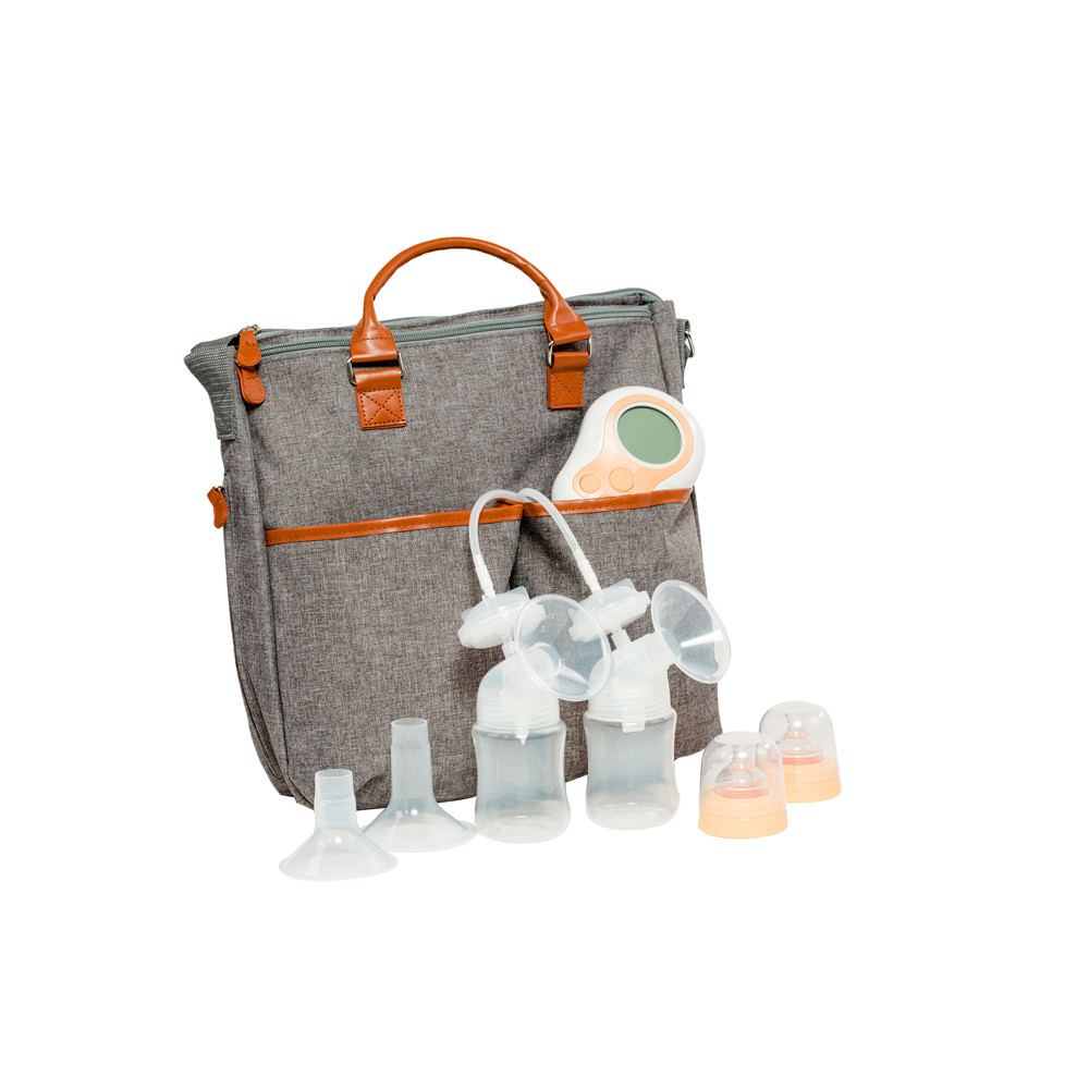 Motif Duo Double Electric Breast Pump w/ Maylilly Tote