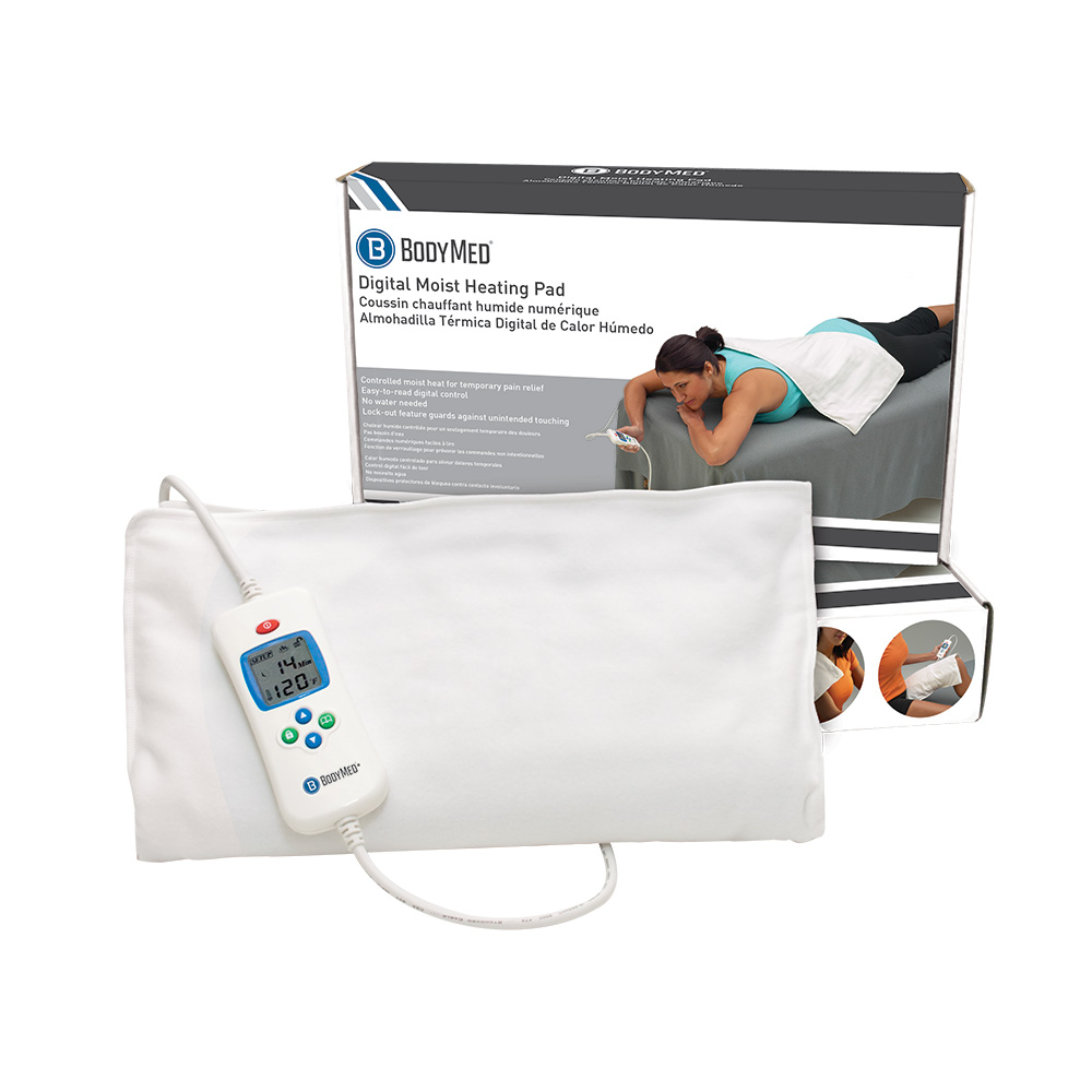 Milliken Medical Featured Products - BodyMed Digital Moist Heating Pad - Click to Shop