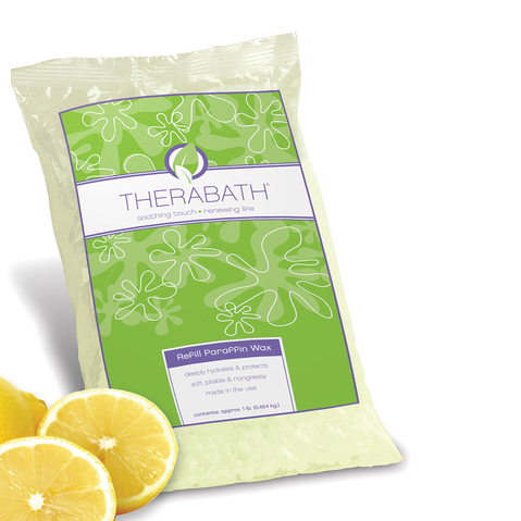 Therabath Lemon-Infused Refill Paraffin Wax