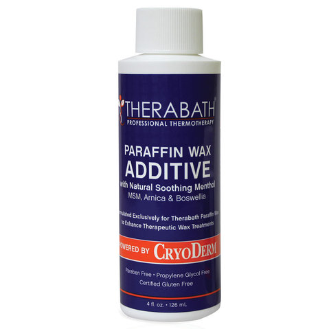 Therabath Paraffin Wax Additive powered by CryoDerm