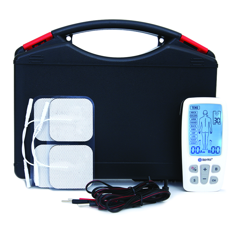Product Image - BodyMed TENS/EMS/Massager Combo with Body Part Diagram - Click to Shop
