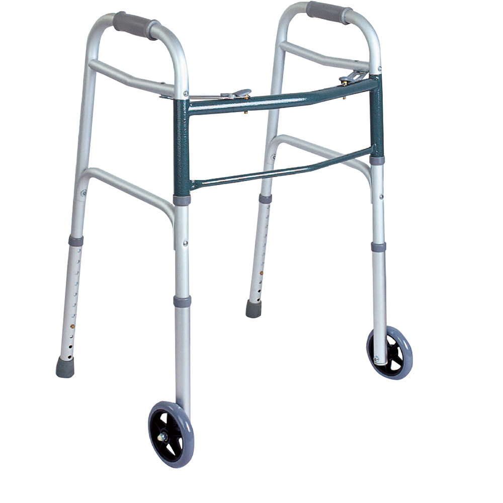 Product Image - BodyMed® 2 Button Folding Walker - Click to Shop