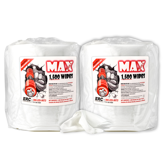 PPE - Max Roll Fitness Equipment and Surface Wipes - Click to Shop