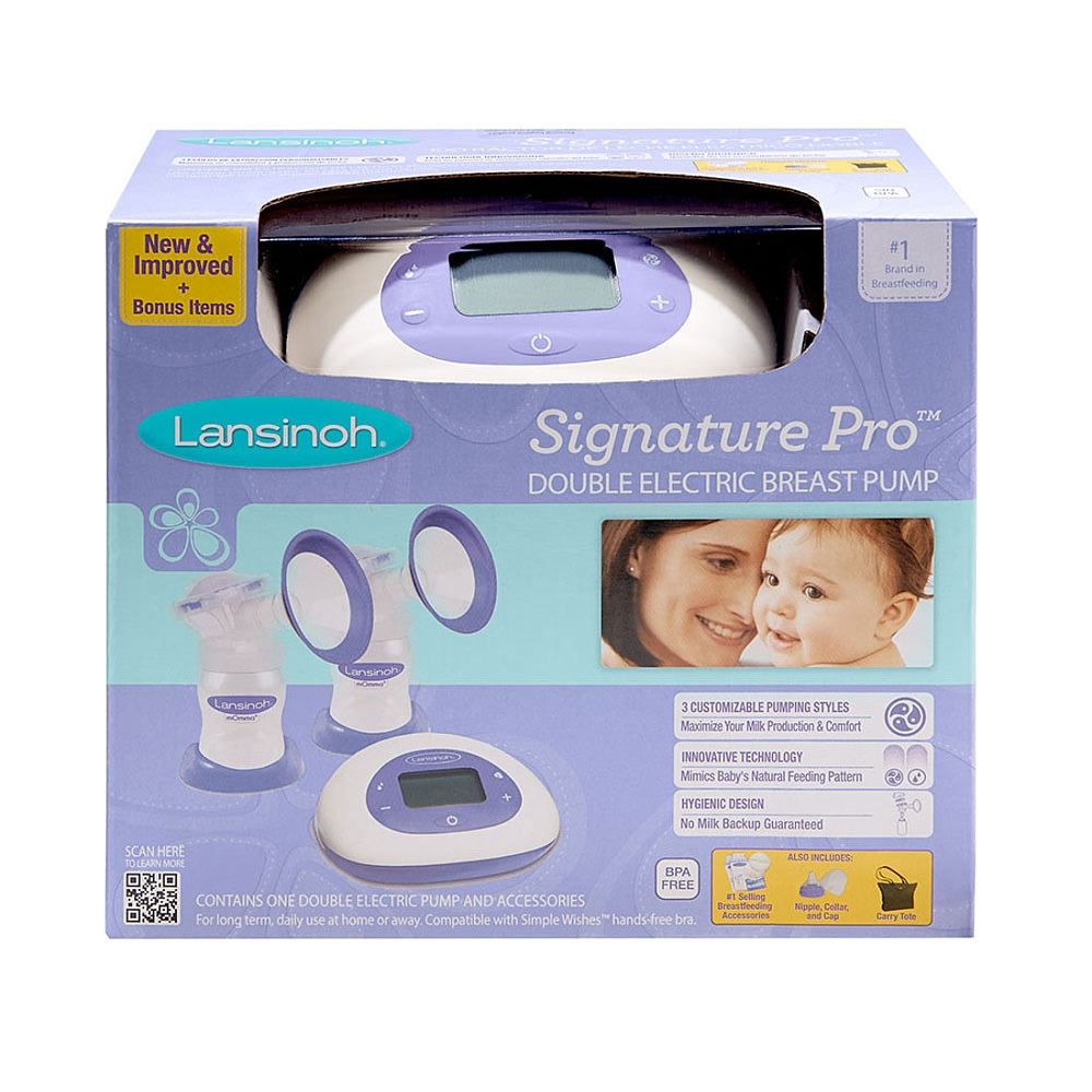Breast Pumps - Lansinoh Signature Pro Double Electric Breast Pump - Click to Shop